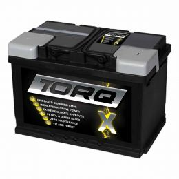 Cadillac CTS battery to fit 6.2 Petrol (2008-) compatible part Torq X Car Battery 12V 77Ah 680CCA Type 096