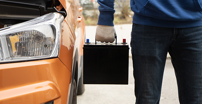 how to find your car battery