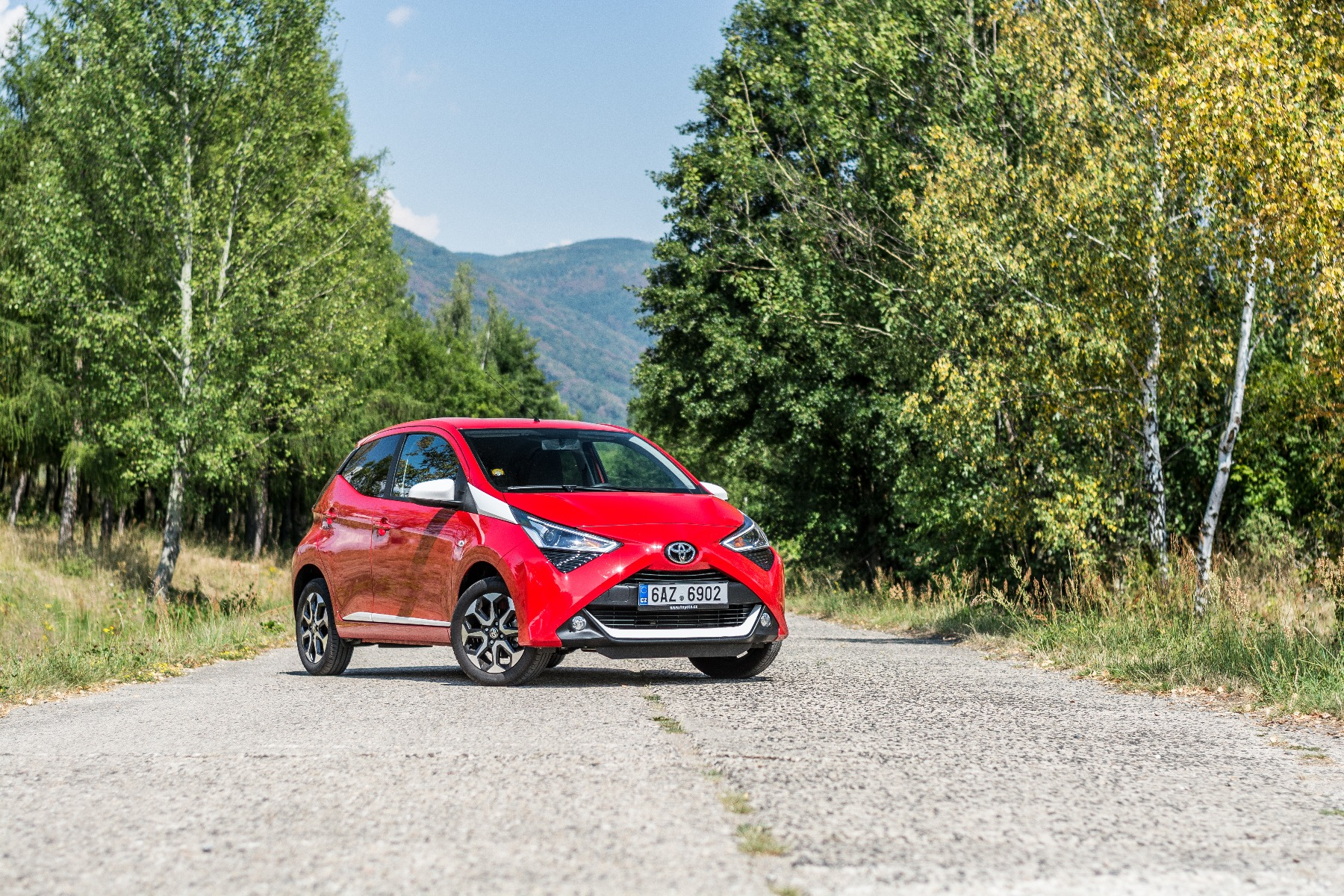 what are the features of the toyota aygo