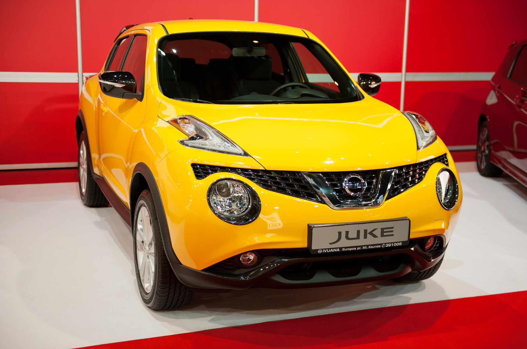 where to look for Nissan juke car battery