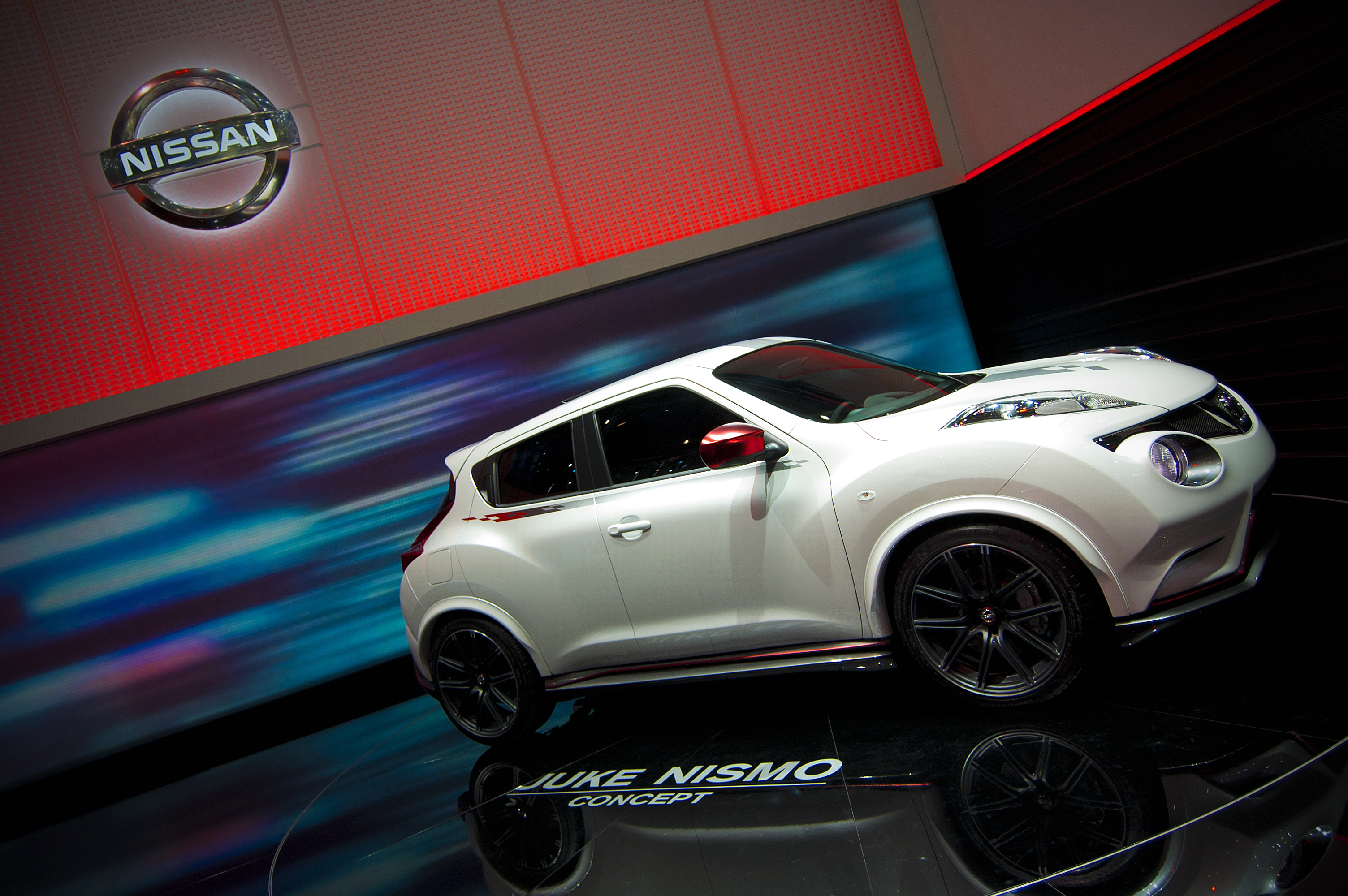 where to look for a nissan juke car battery